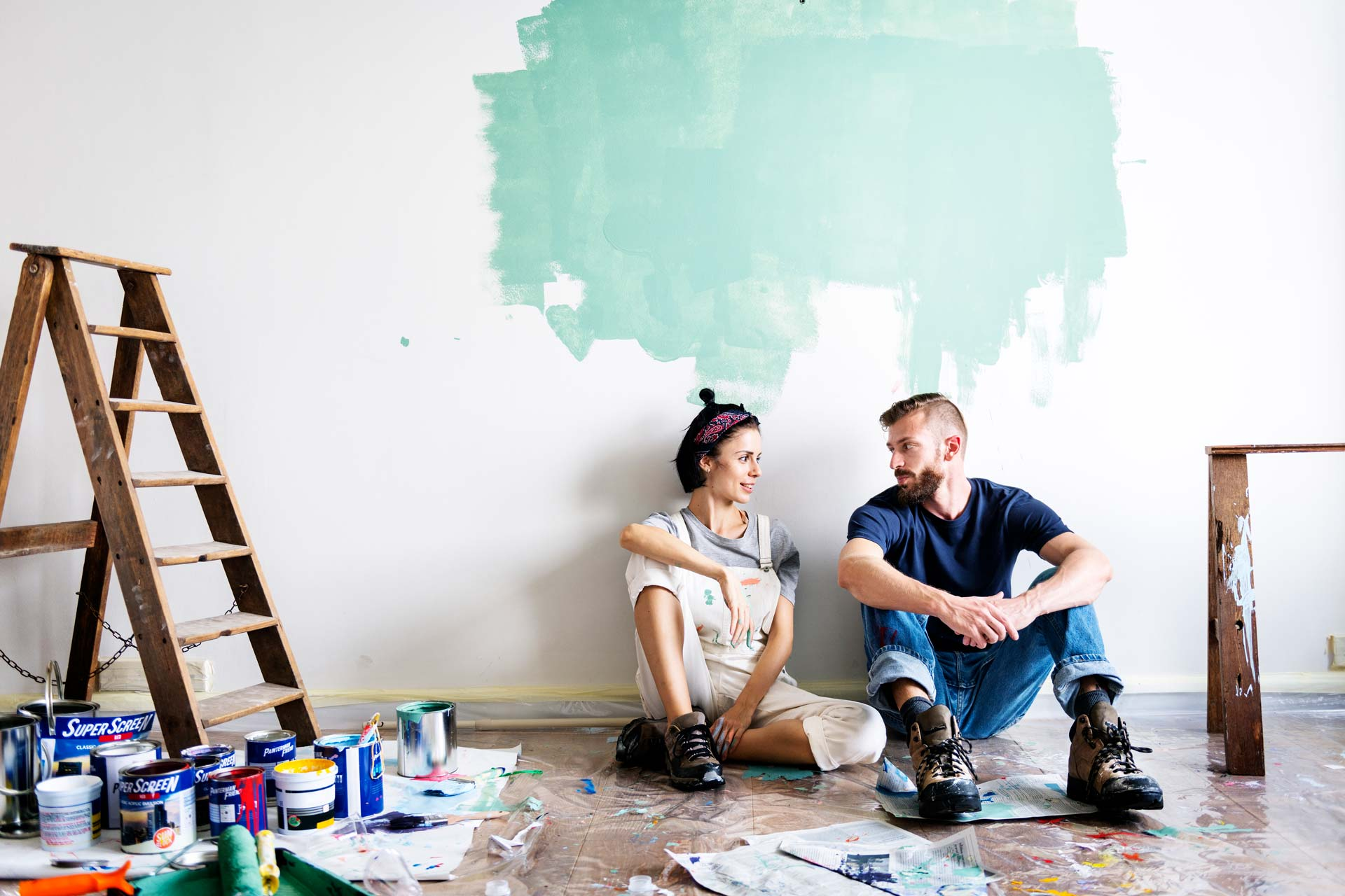 Vernici Ecologiche Per Interni pitture murali per interni ed esterni | samperio vernici