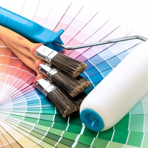 Pennelli, colori e accessori per verniciare e pitturare
